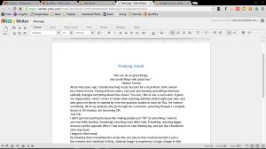 Zoho writer word processor google chromebook