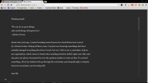 minimalist writing app google chromebook Office