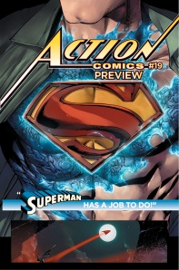 Man of Steel costume comics nanotech